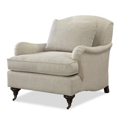 Universal Furniture Churchill Upholstered Arm Chair in Linen