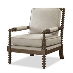 Universal Furniture Sundance Upholstered Soho Accent Chair in Linen