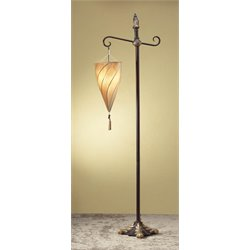 Zingz and Thingz Spiral Hanging Floor Lamp