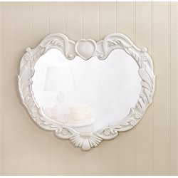 Zingz and Thingz Angel Heart Wall Mirror