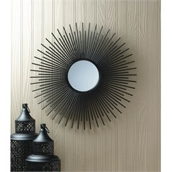 Zingz and Thingz Bursting Sun Wall Mirror