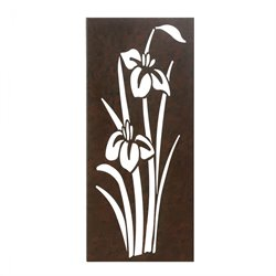 Zingz and Thingz Iris In Bloom Wall Art