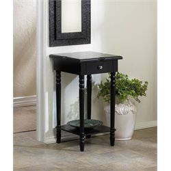 Zingz and Thingz Hampton Wood Table in Black
