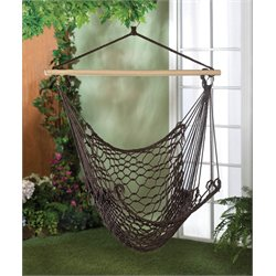 Zingz and Thingz Hammock Chair in Brown