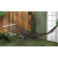 Zingz and Thingz 2 Person Hammock in Espresso