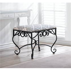 Zingz and Thingz Marvelous Manor Stool in Black