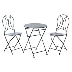 Zingz and Thingz 3 Piece Patio Bistro Set