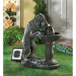 Zingz and Thingz Thirsty Dog Solar Fountain