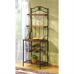 Zingz and Thingz Bakers Style Wine And Glass Rack