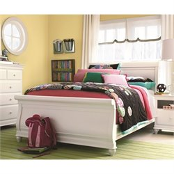 Smartstuff Classics 4.0 Sleigh Bed in Summer White