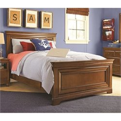 Smartstuff Classics 4.0 Panel Bed in Saddle Brown