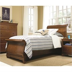 Smartstuff Classics 4.0 Sleigh Bed in Saddle Brown