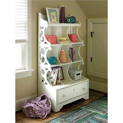 Smartstuff Bellamy Bookcase Nook in Daisy White