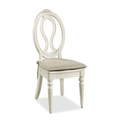 Smartstuff Bellamy Accent Chair with Storage Seat in Daisy White