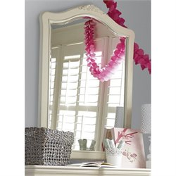 Smartstuff Genevieve Vertical Mirror in French White