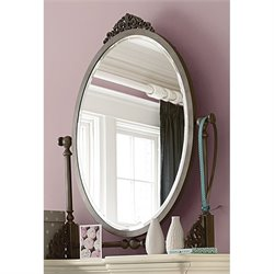 Smartstuff Genevieve Mademoiselle Mirror in French White