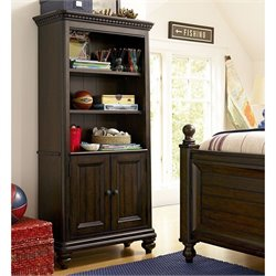 Smartstuff Paula Deen Guys 3 Shelf Wood Bookcase in Molasses
