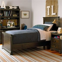 Paula Deen Guys Wood Panel Bed in Molasses
