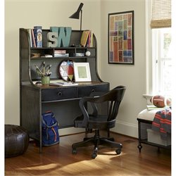 Smartstuff Black and White Metal Desk in Black