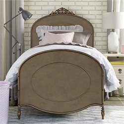 Genevieve's Ma Cherie Metal Bed in Antique Pewter