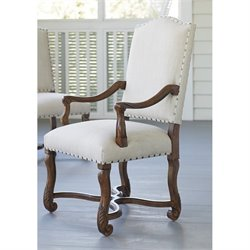 Paula Deen Home Dogwood Upholstered Dining Arm Chair