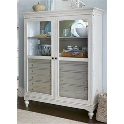 Paula Deen Home Dogwood The Bag Lady China Cabinet