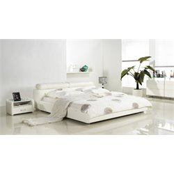 Cannes Leather Upholstered Bed