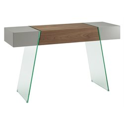 Il Vetro Cabana Glass Console Table