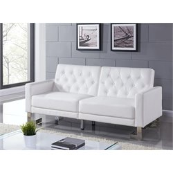 Marino Leather Upholstered Sofa Bed