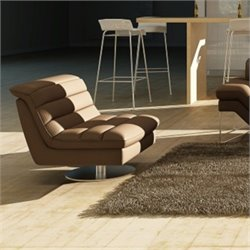 Astro Leather Swivel Chair