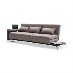 J&M Furniture IDO JH033 Fabric Sleeper Sofa in Beige