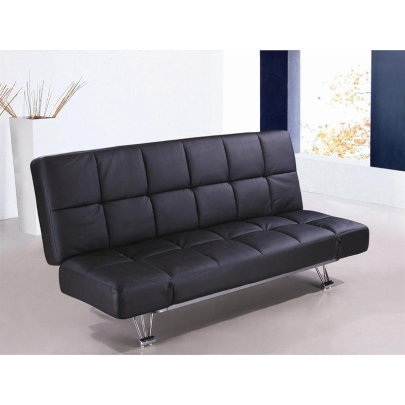 j m furniture venus sofa bed in black 1754421 pu