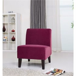 Gold Sparrow Plano Fabric Accent Chair in Purple