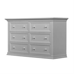 Evolur Napoli 6 Drawer Double Dresser