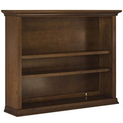 Evolur Napoli 3 Shelf Bookcase Hutch