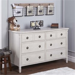 Evolur Julienne 6 Drawer Double Dresser
