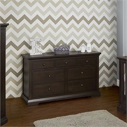 Evolur Parker 7 Drawer Double Dresser