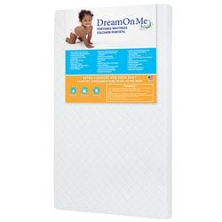 Dream On Me 3'' Extra Firm Portable Crib Mattress