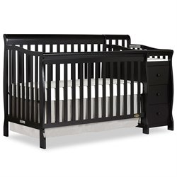 Brody 5 in 1 Convertible Crib with Charger