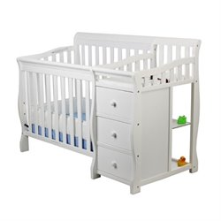 Jayden 4-in-1 Mini Convertible Crib and Changer