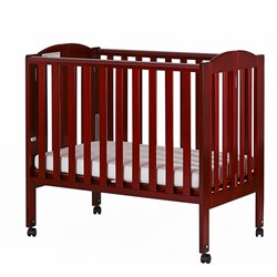 2-in-1 Folding Portable Crib