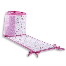 Dream On Me Spring Time Portable Crib Bumper