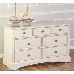 Evolur Catalina 7 Drawer Double Dresser