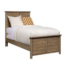Driftwood Park Panel Bed in Sunflower Seed