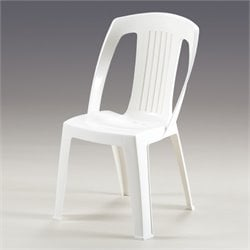 The-HOM Elba Dining Chair in White