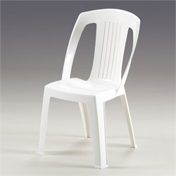 Thy-HOM Elba Dining Chair in White