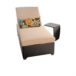 Classic Wicker Patio Lounges With Side Table