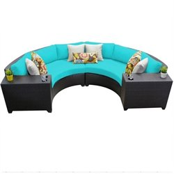 Barbados 4 Piece Outdoor Wicker Sofa Set 2
