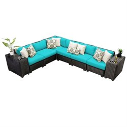 Venice 8 Piece Outdoor Wicker Sofa Set