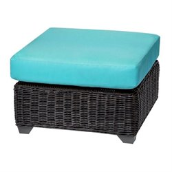 Venice Patio Wicker Ottoman